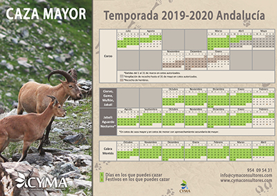Veda Caza Mayor 2019-2020