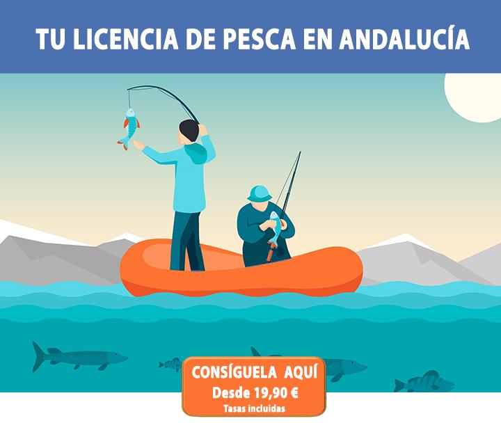 Tu licencia de pesca